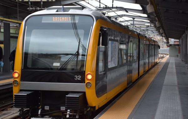 foto di oggi – metro nuovo treno