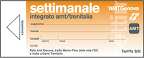 Amt Genova Abbonamenti Agevolati
