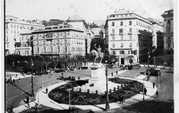 Foto di ieri – veduta piazza Corvetto